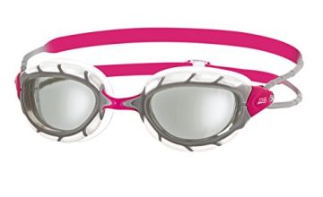 Zoggs 310870, Women Swimming Goggles, Clear/Silver, One Size