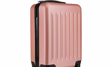 "Kono Suitcase Light Weight Hard Shell ABS 4 Spinner Wheel Travel Trolley Case 19"" 24"" 28"" Luggage"