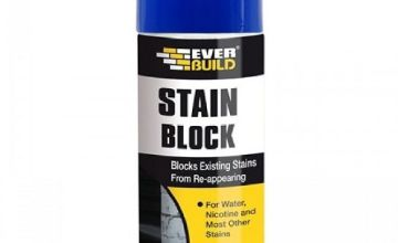 Everbuild EVBSTAINSTP Stain Block Spray 400 Milliliters
