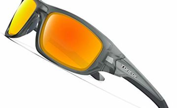 TOREGE Polarized Sports Sunglasses For Men Women Cycling Running Fishing Golf TR90 Unbreakable Frame TR011