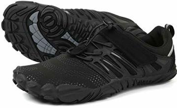 WHITIN Unisex Wide Toe Minimalist Trail Running Barefoot Shoes