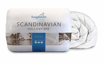 Save on Snuggledown Classic Hollow Fibre Duvet, 10.5 Tog All Year Round, Double and more