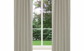 Deconovo Back Tab and Rod Pocket Blackout Curtains with Multiple Sizes