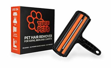 Tuff Pets Pet Hair Remover Remove Dog and Cat Fur From Sofa's and Other Furniture | Easy to Clean Roller Brush Design for Effective Fur Removal | Lint Roller Alternative