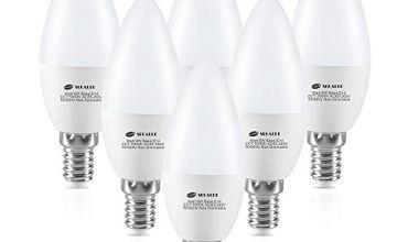E14 and E27 LED Edison Screw Ball Bulb, Non-Dimmable