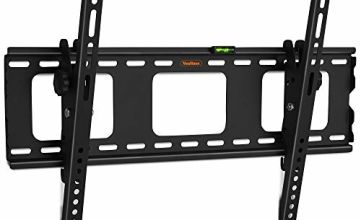 VonHaus 32-70 Inch Tilt TV Wall Bracket - Tilting Mount for VESA Compatible Screens, 75kg Weight Capacity with Locking Bar