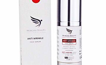 Anti Aging Creams Face Serum - [ Made In U.K ] Anti Wrinkle Cream Antiaging Serum | Face Cream for Women | Matrixyl Retinol Face Serum Boosts Collagen | Reduces Fine Lines | Face Serums for Women
