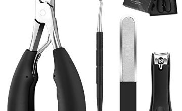 BESTOPE Toenail Clippers for Thick Nails Clippers for Thick Ingrown Hard Toe Nail Fingernail Strong Big Nail Scissors Nippers