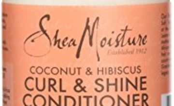 Save on Shea Moisture Coconut and Hibiscus Curl and Shine Conditioner, 379 ml and more