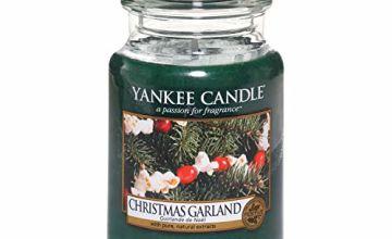 Up to 30% off Yankee Xmas Large Jars