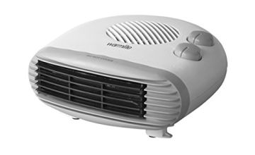 Save on Warmlite Portable Flat Fan Heater, Adjustable Thermostat, Overheat Protection, Lightweight, 2 Heat Settings 1000-2000 W, White and more