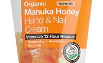 Dr. Organic Manuka Honey Hand and Nail Cream 125 ml 125 ml
