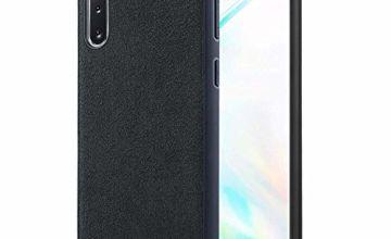 Proze Samsung Galaxy Note 10 Phone Case - Alcantara Finish Hard Case