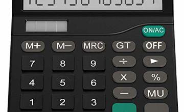 Helect Calculator, Standard Function Calculator black