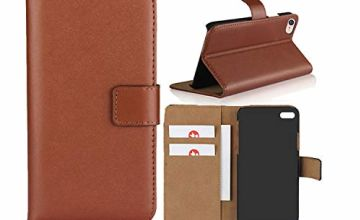 Smart Fit Sport iPhone Leather Case - SFS Leather Wallet Folio Case for iPhone X/XS 4/4S 5/5S 5C 6/6s 6 Plus 7/8 7 Plus/8 Plus