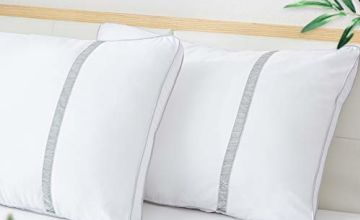 BedStory Sleeping Pillows Hotel Collection Pillow Pack of 2, Premium Quality Bed Pillows for Back Stomach and Side Sleepers Hypoallergenic Dust-Mite Resistant