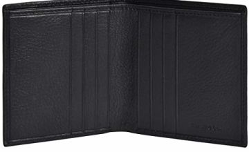 Eono Essentials Small Leather Wallets with RFID- 2 Note Compartment Ultra Slim Wallet for Men & Women