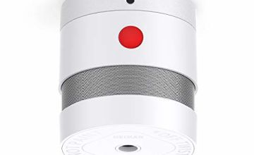 HEIMAN 10-YEAR Mini Smoke Alarm(Battery Included), CE Certified Smoke Detector, Independent Photoelectric Fire Detector with 3M Adhesive Tape-HS3SA(1 Pack)