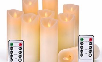 OSHINE Flameless Candles Remote Control,Gift Decoration, Party