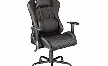 Trust Gaming GXT 707 Resto Gaming Chair-Black, 134 x 74 x 66 cm