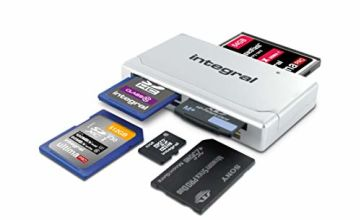 Integral Multi card reader USB 2.0 – All in one memory card reader adapter