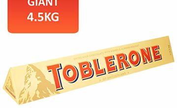 39% off 4.5kg Toblerone Giant Chocolate Bar