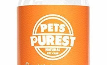 Pets Purest Scottish Salmon Oil For Dogs, Cats, Horses, Ferrets & Pets | 100% Pure Premium Food Grade | Natural Omega 3, 6 & 9 Supplement | Promotes Coat, Skin, Joint and Brain Health