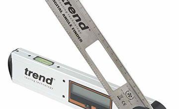 Trend DAF/8 Digital Angle Finder 8in, Silver
