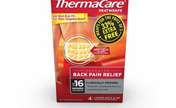 Save on ThermaCare Lower Back Heat Wrap (4 Count) 1 Pack and more