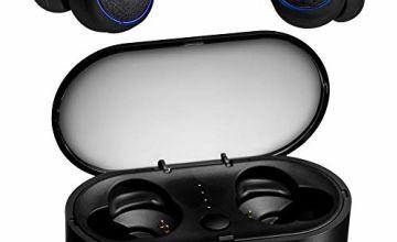 Proze TWS-02 True Wireless Earphones Bluetooth 5.0 - Premium Sound 20H Mic IP67 [UPDATED]
