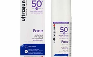 ultrasun Face Anti-Ageing Sun Protection SPF50+, 50 ml