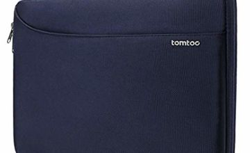 tomtoc Protective Laptop Sleeve with Handle and Accessory Pocket