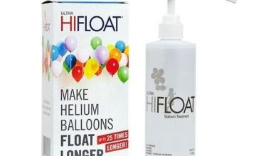 Ultra Helium Hi-Float Latex Balloon Treatment Kit