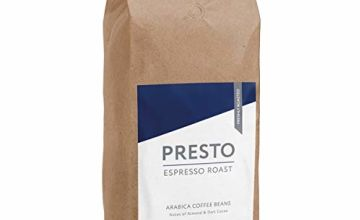 Presto Coffee Beans – Cafè Espresso - Medium Roast Whole Coffee Beans 1KG - Smooth Arabica - Perfect Bean to Cup Coffee Machine - Great Taste Award Winner 2019