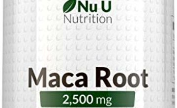 Maca Root Supplement by Nu U Nutrition