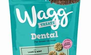 Save on Wagg Lamb and Mint Flavoured Dental Bites, Small Bite, 7 x 100 g and more