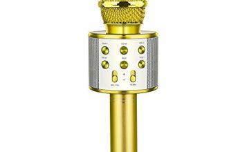 KITY Wireless Bluetooth Karaoke Microphone - Best Gifts