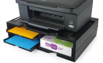 Exponent World Printer Organizer - Black