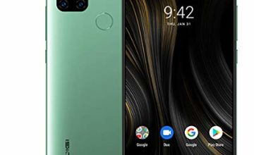 "UMIDIGI Power 3 6150mAh Monster Battery Unlock Cell Phone, 48MP Ultra Wide Macro Quad Camera, 6.53"" FHD+ Android 10 Mobile 4G+64GB Phone 2 + 1 Card Slots, 18W Fast Charging [Green]"