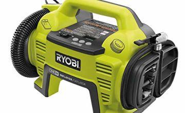 Ryobi R18I-0 ONE+ Inflator, 18 V (Body Only) - Hyper Green