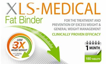 Save on XLS-Medical Fat Binder Tablets Weight Loss Aid, 1 Month Supply Pack, 180 Tablets and more