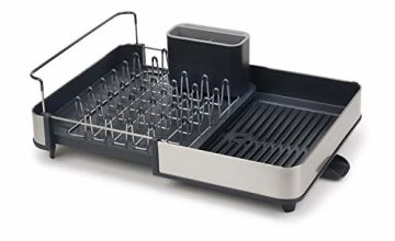 Joseph Joseph Extend Steel Dish Rack - Grey