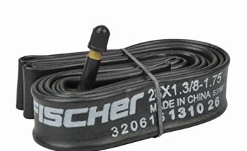 fischer Bicycle Inner Tube 28 Medium AV Inner Tube – Black, One Size