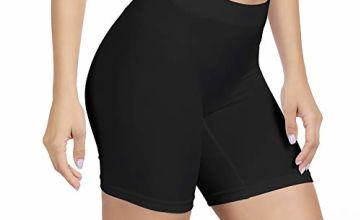 SIHOHAN Womens Slip Shorts Comfortable Short Pants Ultra Soft Seamless Long Briefs for Under Dresses Leggings and Yoga Sports