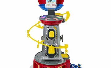 Paw Patrol 6053408, Mighty Pups Super PAWs Lookout Tower Playset with Lights and Sounds, for Ages 3 and Up (2019)