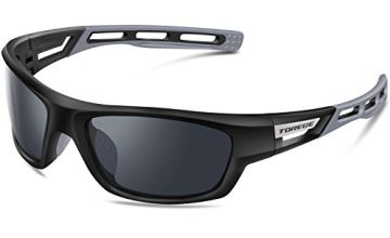 TOREGE Sports Sunglasses Polarized Glasses For Man Women Cycling Running Fishing Golf TR007