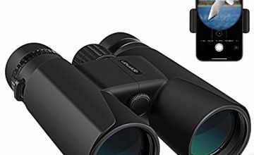APEMAN 10X42 HD Binoculars for Adults with Low Light Night Vision,Compact Binoculars for Bird Watching,Hunting,Sports Events,Travelling,Adventure and Concerts,FMC Lens with Smart Phone Adapter
