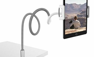 Lamicall Gooseneck Tablet Stand, Adjustable Tablet Mount