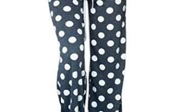 Famulily Ladies Casual Loose Drawstring High Waist Workout Pajama Tie Dye Lounge Pants White XL