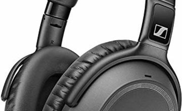 Sennheiser PXC 550-II Wireless Headphone with Alexa Built-In, Noise Cancellation and Smart Pause - Black